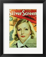 Framed Greta Garbo