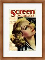 Framed Greta Garbo - Screen Romances