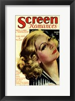 Framed Greta Garbo - Screen Romances