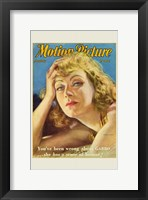 Framed Greta Garbo - Motion Picture