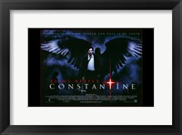 Framed Constantine - black wings