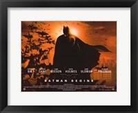 Framed Batman Begins Sunrise Horizontal