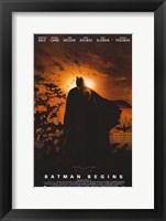 Framed Batman Begins Sunrise