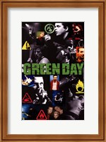 Framed Green Day
