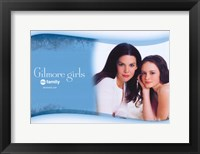 Framed Gilmore Girls - posing