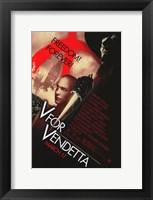 Framed V for Vendetta