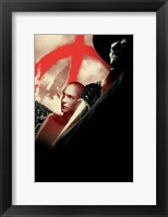 Framed V for Vendetta Comic Book Style