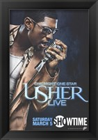 Framed One Night One Star: Usher Live