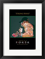 World Series of Poker Strong Hand Framed Print