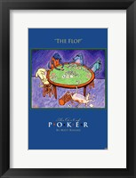 World Series of Poker The Flop Animals Framed Print