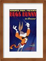 Framed Bugs Bunny in Concert