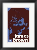 Framed James Brown