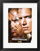 Framed Prison Break (TV) Michael & Lincoln