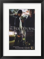 Framed Supernatural (TV) Dean & Sam Winchester