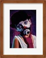 Framed Tramp Clown Boy