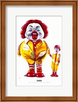 Framed M.C. Supersized and Son