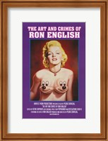 Framed Art and Crimes of Ron English (book cover)