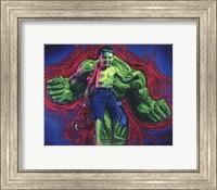 Framed Hulk Boy