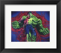 Framed Hulk Boy
