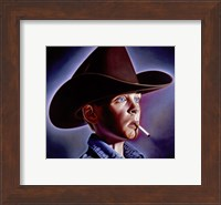 Framed Marlboro Boy
