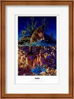 Framed Sea Monkeys
