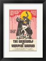 Framed Werewolf vs. the Vampire Women