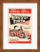 Framed Kings Go Forth