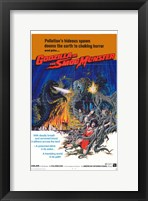 Framed Godzilla vs. Smog Monster