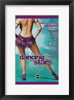 Framed Dancing with the Stars Purple Dress
