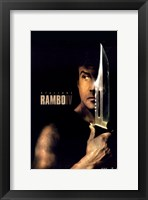 Framed Rambo - knife