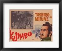 Framed Yojimbo the Bodyguard