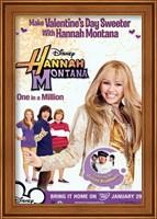 Framed Hannah Montana - One in a Million - style C