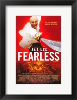 Framed Jet Li's Fearless