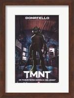 Framed Teenage Mutant Ninja Turtles Donatello
