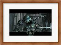Framed Teenage Mutant Ninja Turtles Leonardo