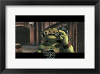 Framed Teenage Mutant Ninja Turtles Michaelangelo Goggles