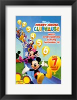 Framed Mickey Mouse Clubhouse