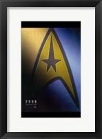Framed Star Trek XI - style H