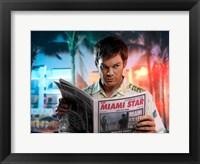 Framed Dexter Miami Star