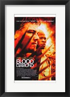 Framed Blood Diamond