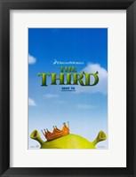 Framed Shrek the Third King
