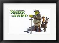 Framed Shrek the Third Knight