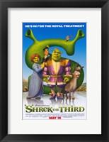 Framed Shrek the Third Royal Treatment