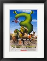 Framed Shrek the Third The Wait is Ogre