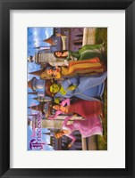 Framed Shrek the Third Ladies Dancing
