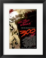 Framed 300 Feel the Wriath in Imax