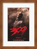Framed 300 Xerces Rodrigo Santoro