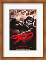Framed 300 Masked Spartan