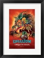 Framed Cirque du Soleil - Dralion