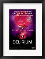 Framed Cirque du Soleil - Delirium, c.2006 (Globe)